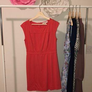Loft peach dress size 4